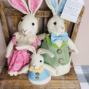 14 Inch Bunny Family